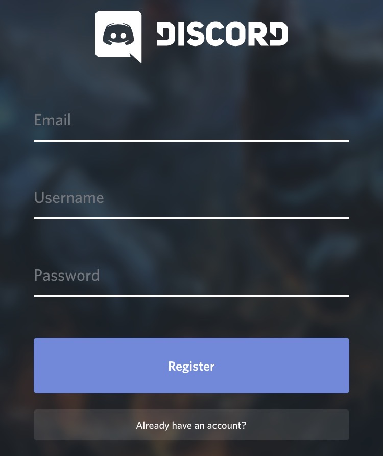 Step Two | Create a user account.