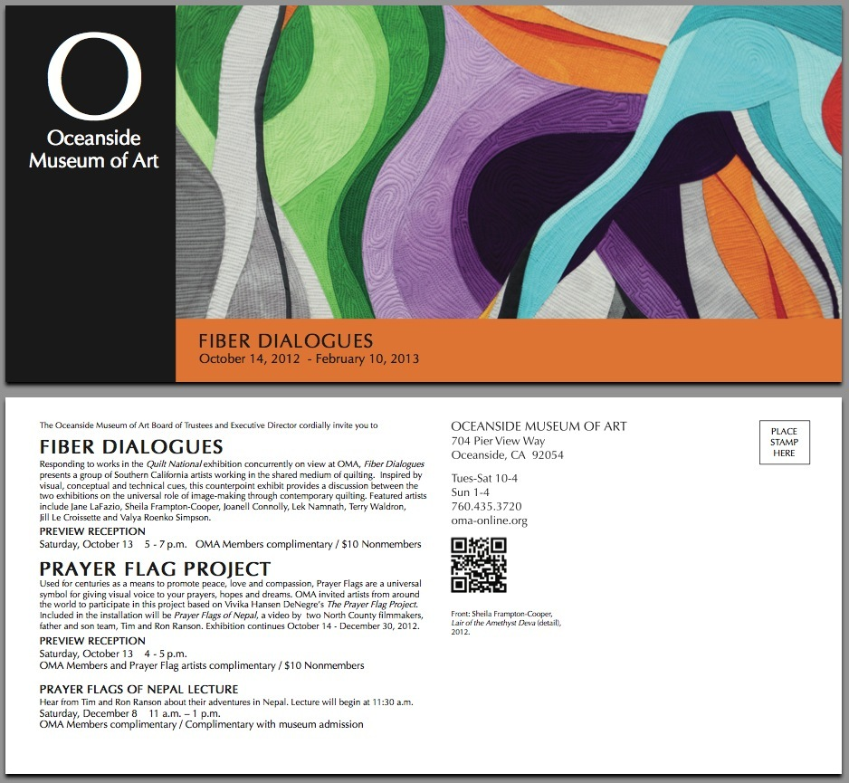 Oceanside Museum of Art (Fiber Dialogs Exhibit)