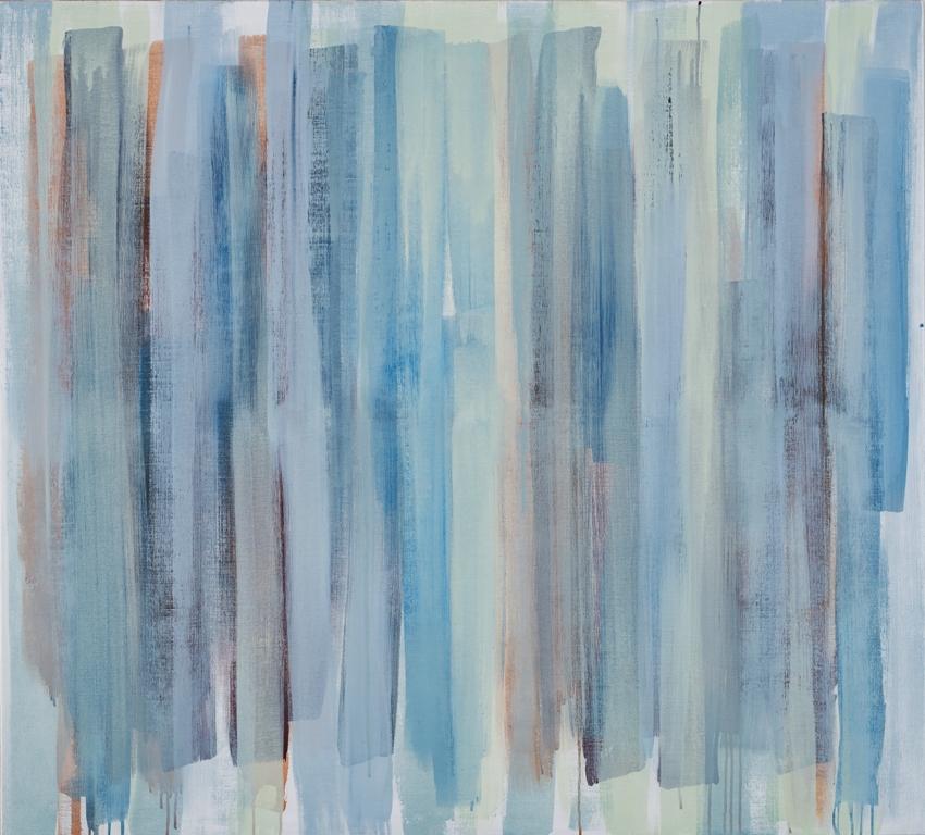 Pale Haze, 145 x 160 ,akryl på lerret