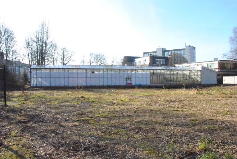 Figure 2 : Le site de l'ancienne villa Capouillet aujourd'hui