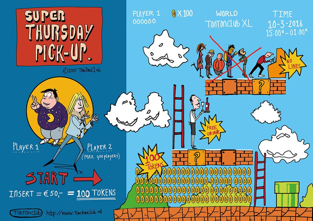 TonTon Club infographic Super Thursday  2015