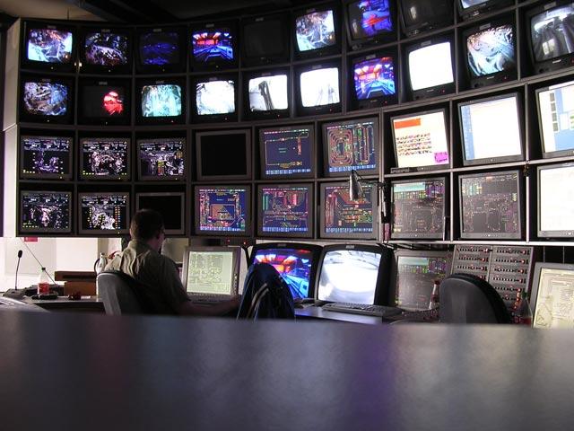 Control Room - via Wikimedia Commons