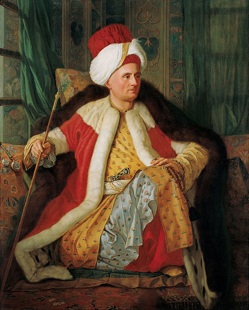 Portrait of Charles Gravier Count of Vergennes and French Ambassador, in Turkish Attire   Antoine de Favray [Public domain] via Wikimedia Commons