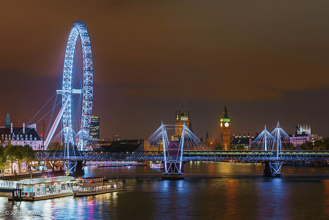 London by Night...