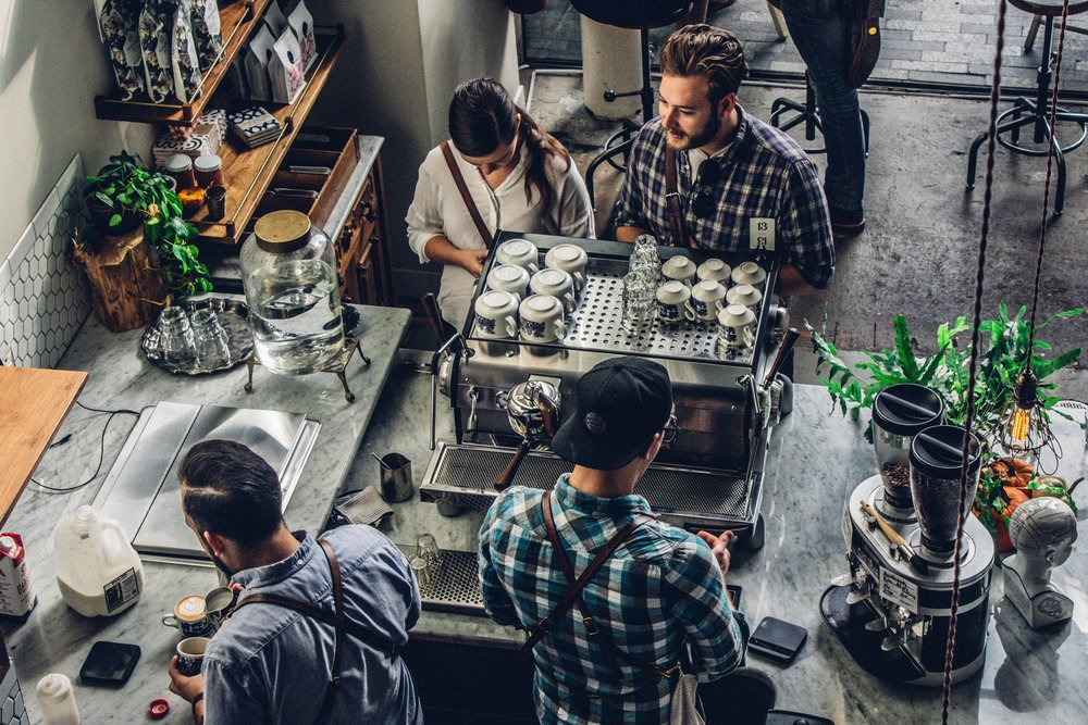 Calling all lovers of coffee - Our coffee partners receive training, Customer Support and Free Machinery to brew the perfect cup.What're you waiting for?