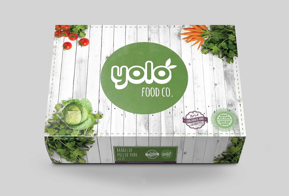 Packaging Design for Yolo Food Company