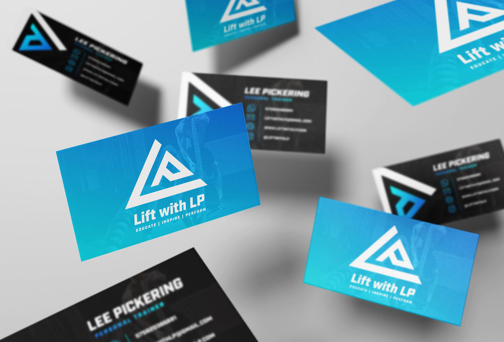 Logo Design & Branding for Personal Trainer Lee Pickering