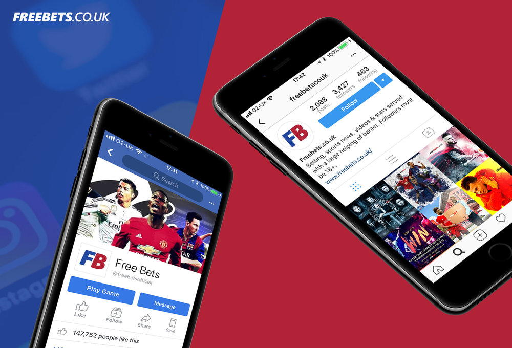 Social Media Content Creation for Freebets.co.uk