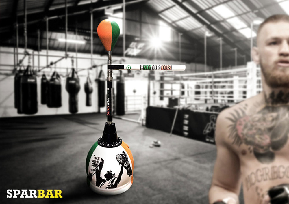 Custom Sparbar design for Floyd Mayweather & Conor McGregor