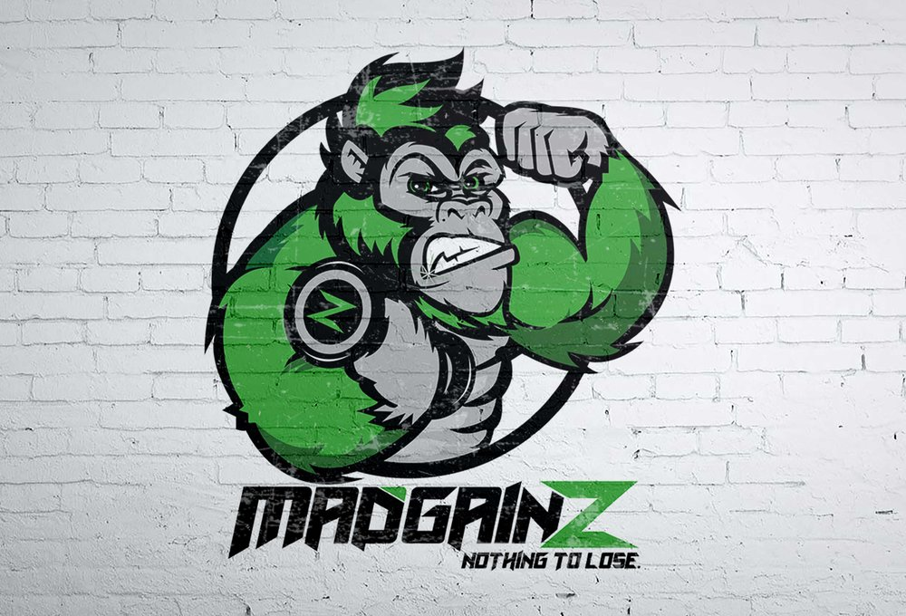 Logo Design & Branding for Gym Clothing company Mad Gainz
