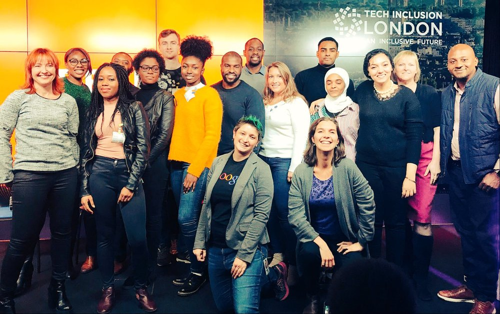 Tech Inclusion London Team