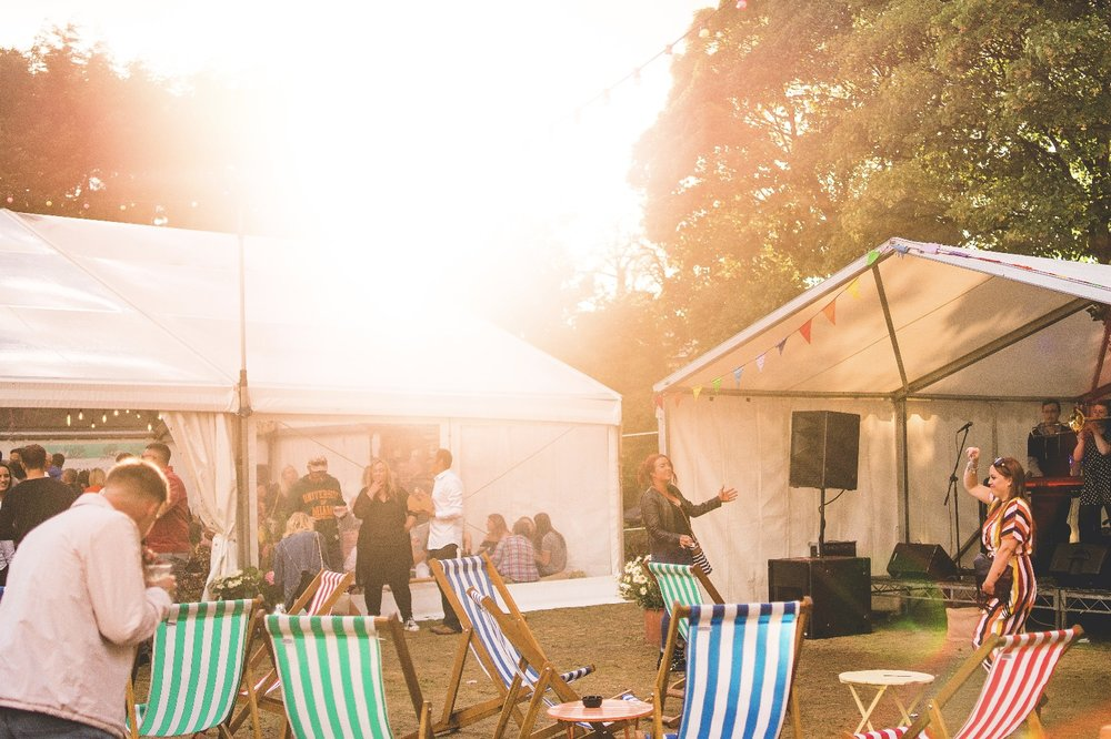 ENTERTAINMENT - What would a festival be like without entertainment? Expect to find an outdoor stage that will host bands and Dj's playing a selection of the best swing, soul, funk and party tunes, taking us through the day providing the perfect soundtrack for your journey of Gin discovery.