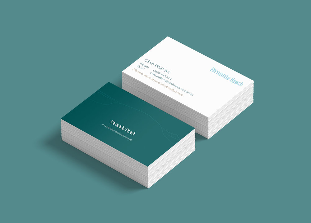yaroomba beach business card