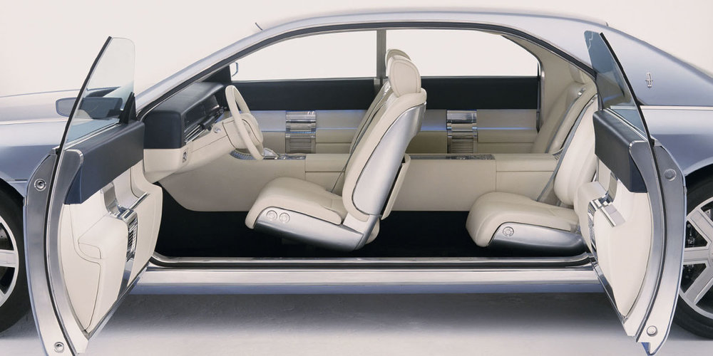 LINCOLN CONTINENTAL INTERIOR CONCEPT 2002
