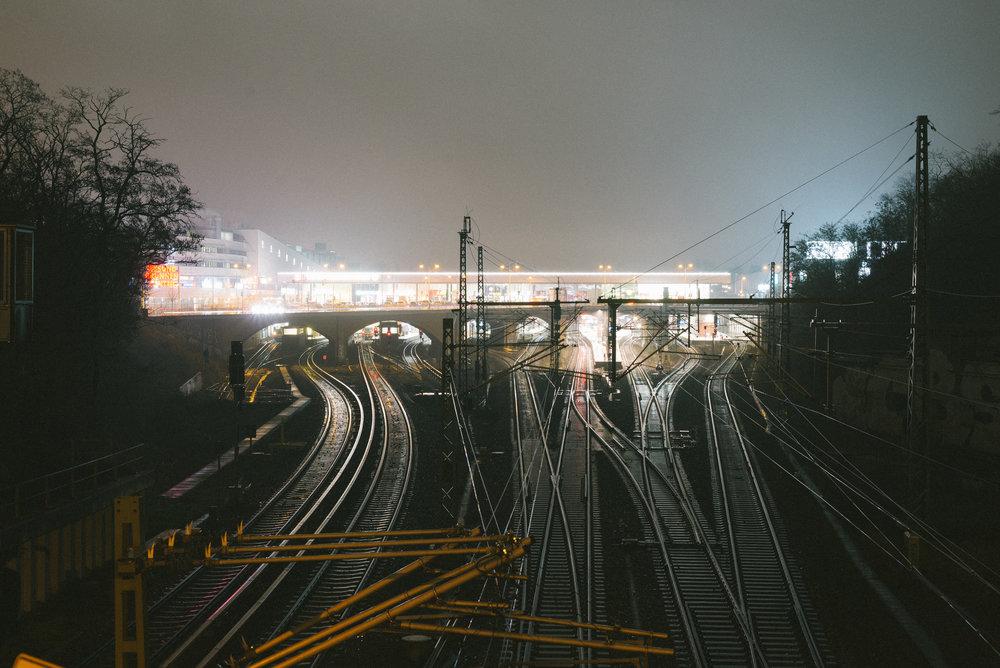 gesundbrunnen station.