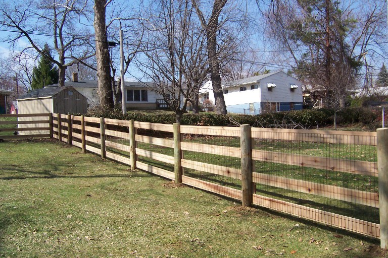 Split Rail & Kentucky Board