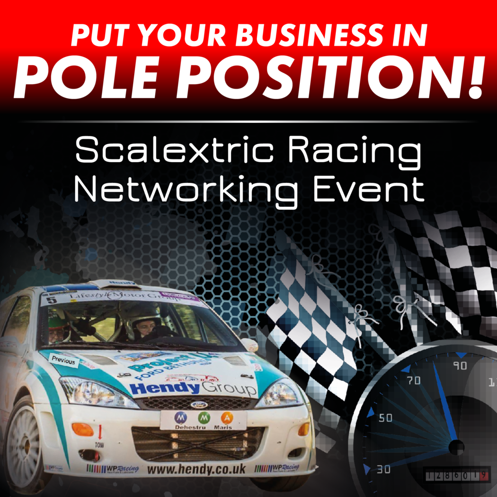 Scalextric networking event
