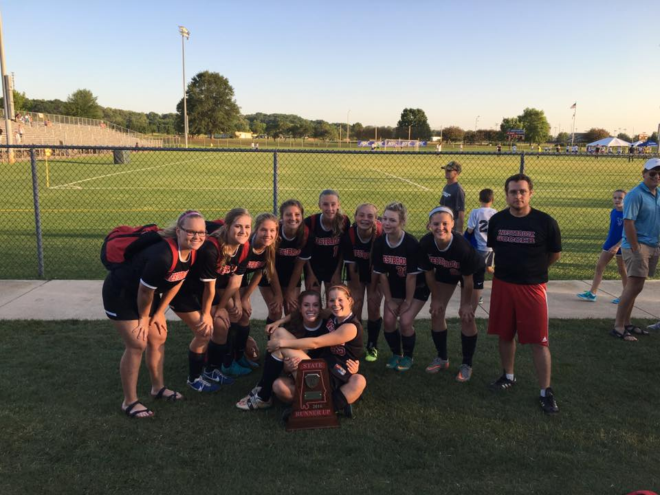 Some of the seniors and others from the 2016 AHSAA State-Runner up team. ALSO an amazing group of people!