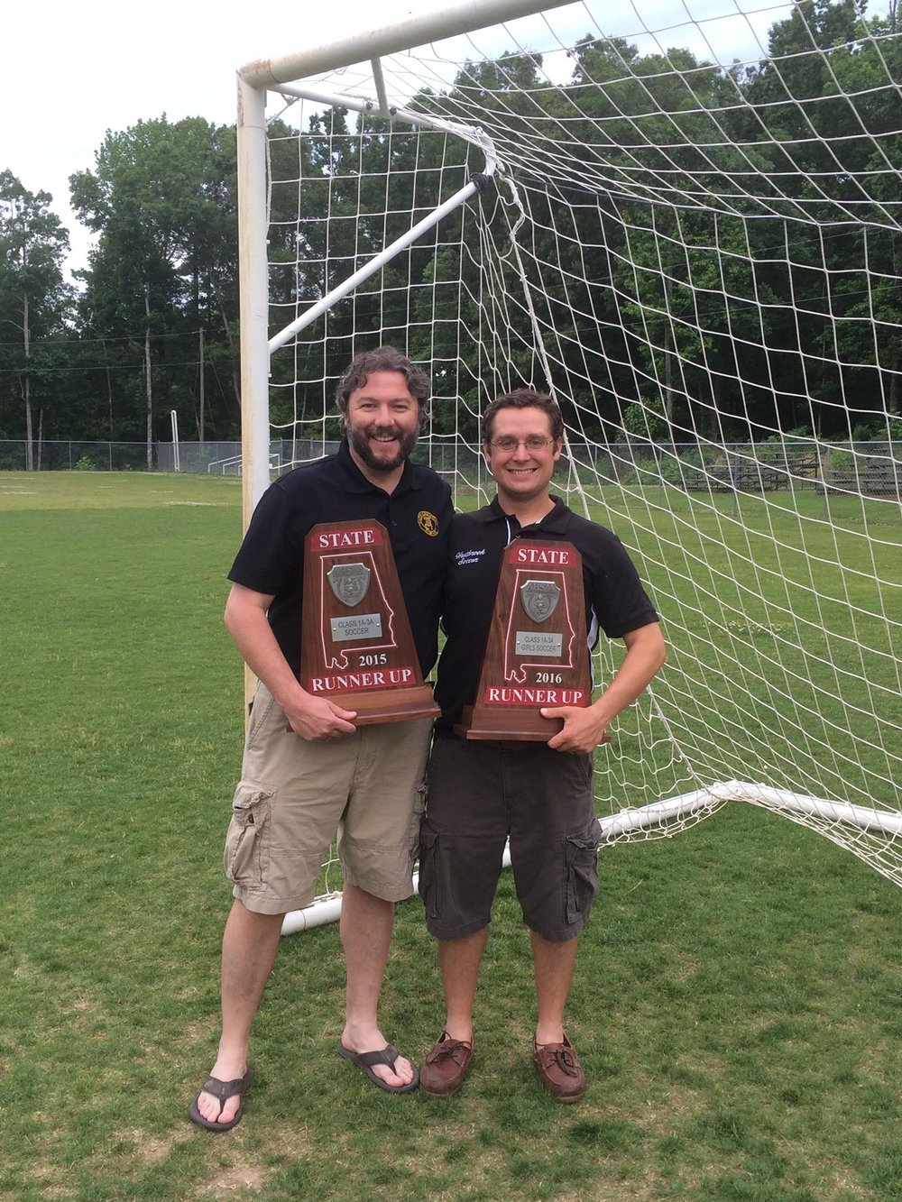 My former youth pastor, soccer coach, and accountability partner, Erik.
