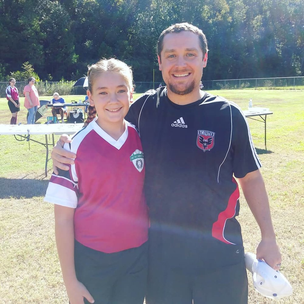 Coaching my younger daughter's church league soccer team for the final year was bittersweet.