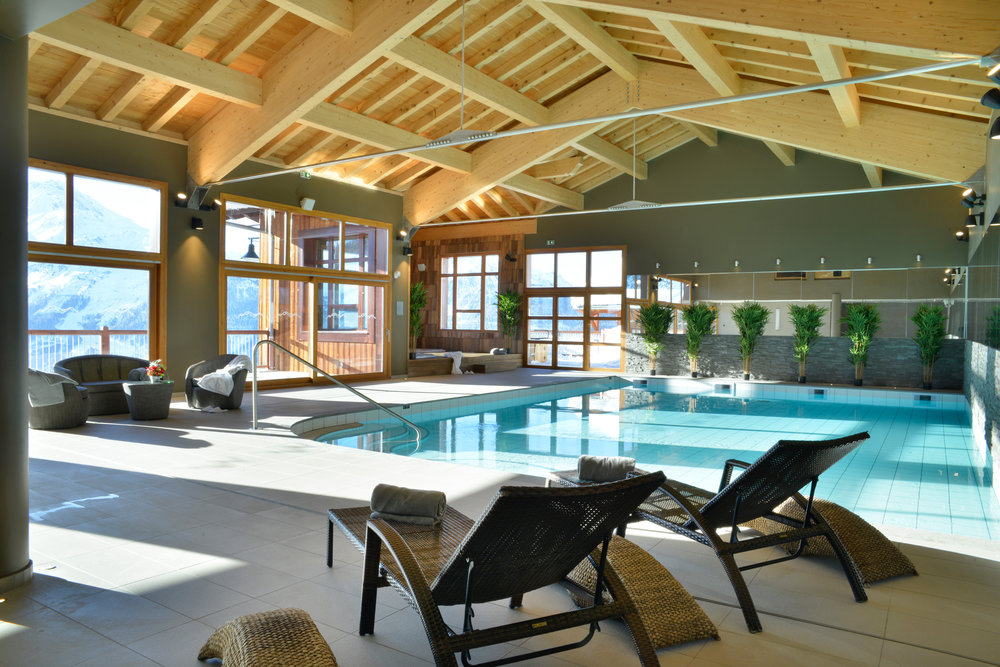 SUMMIT SPA Pool, Hyatt Centric, La Rosiere