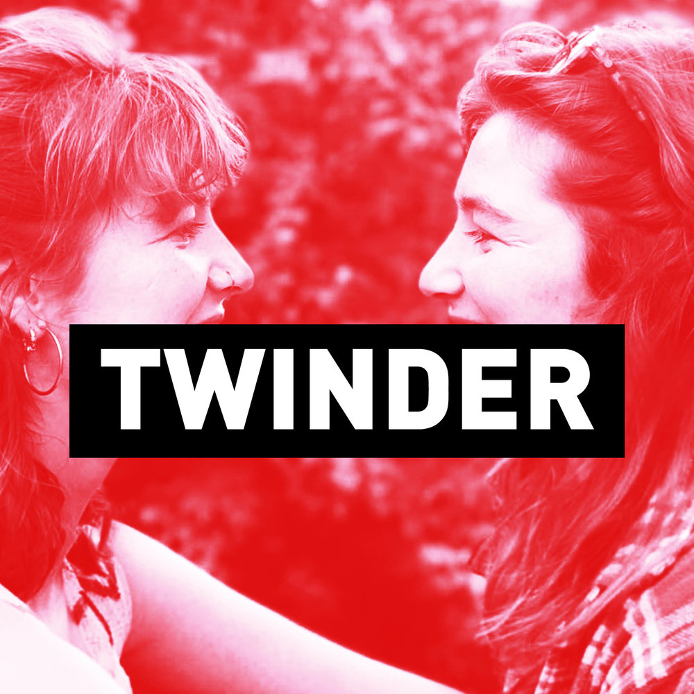 Twinder - A comedy podcast series on modern-life dating. Twins Poppy and Lucy invite guests to chat about their experience online and offline. Hosts: Poppy and Lucy KearneyProducer: Sam BekemansMusic: Jeremy Charles YangArt: Julie Thomas