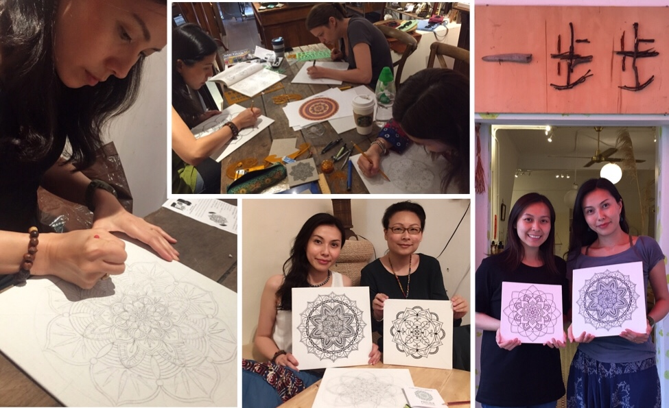 Mandala Drawing Class in Hong Kong