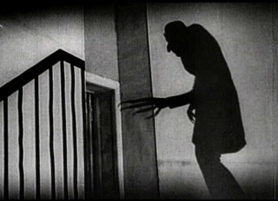 Nosferatu ascends the stairs...