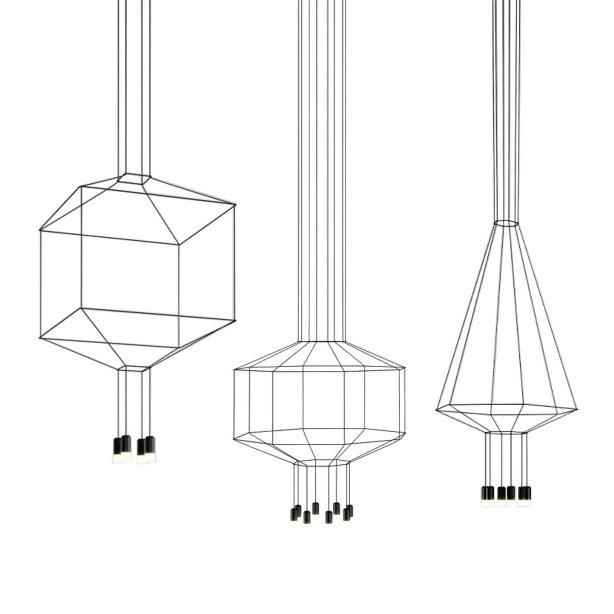 Candeeiro Wireflow - Vibia