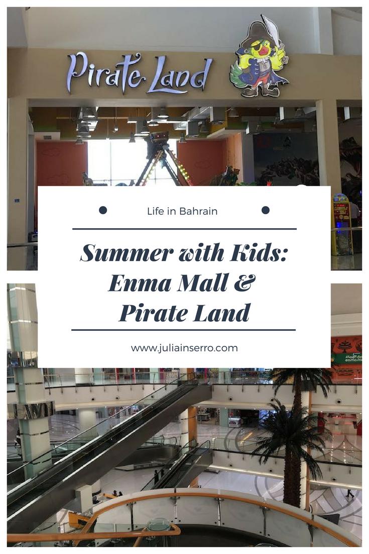 Summer With Kids Enma Mall Pirate Land Julia Inserro