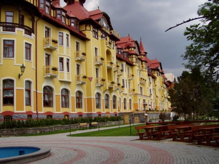 Grandhotel Praha | Tatranská Lomnica