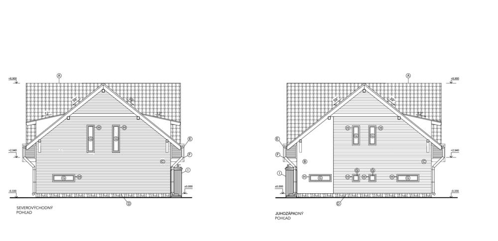 Dom na pozemku č.6