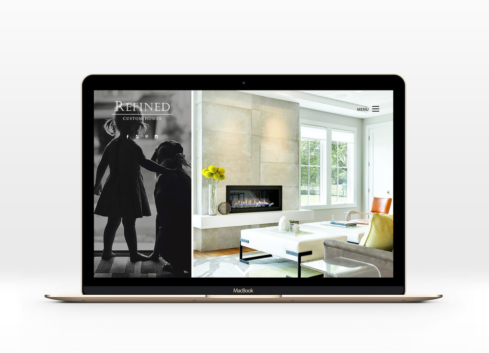 Custom Home Builders New Website