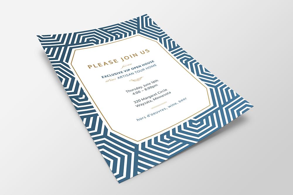 Interior Designer Event Invite Design