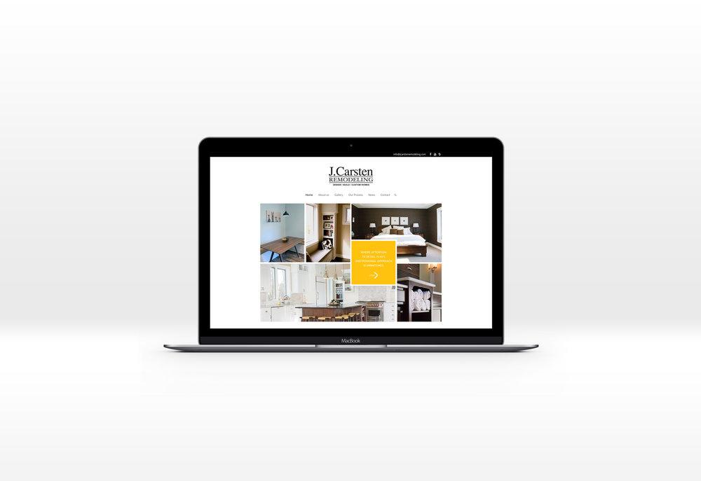 Remodeling Contractor New Website Design