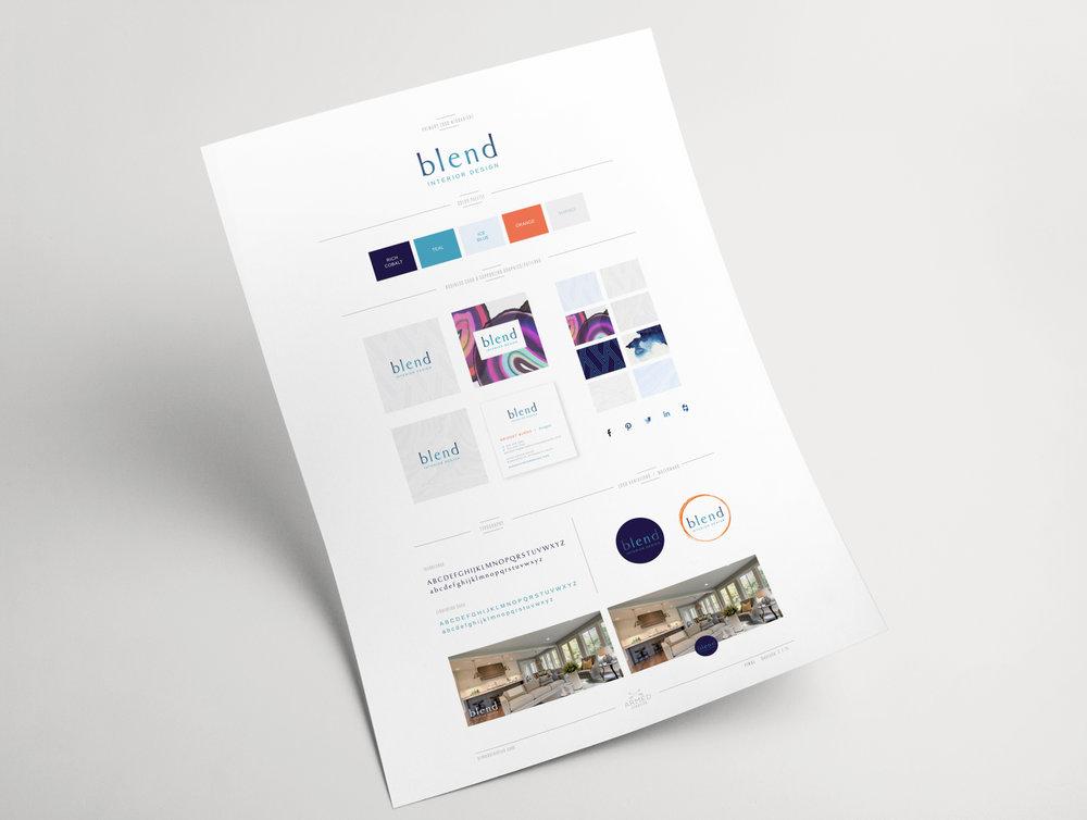 Interior Design Firm Branding Mood Board