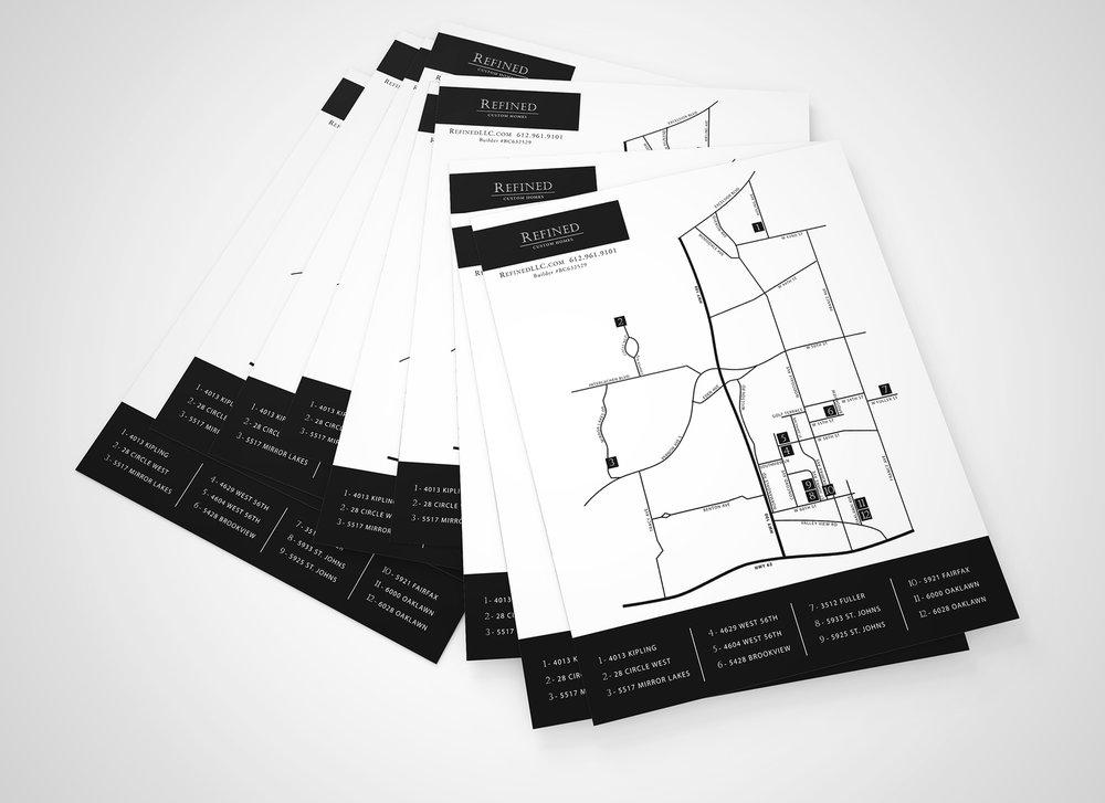 Homebuilding Contractor Map Design