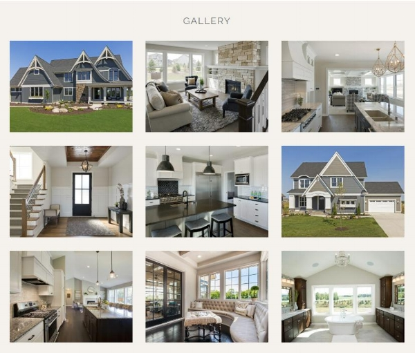 Website Gallery Option for Remodeling and Home Building Contractors