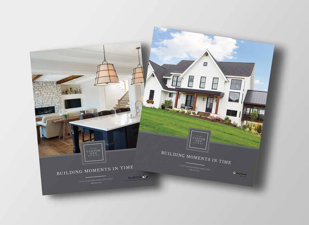 Print Ad Design for Custom Home Builders