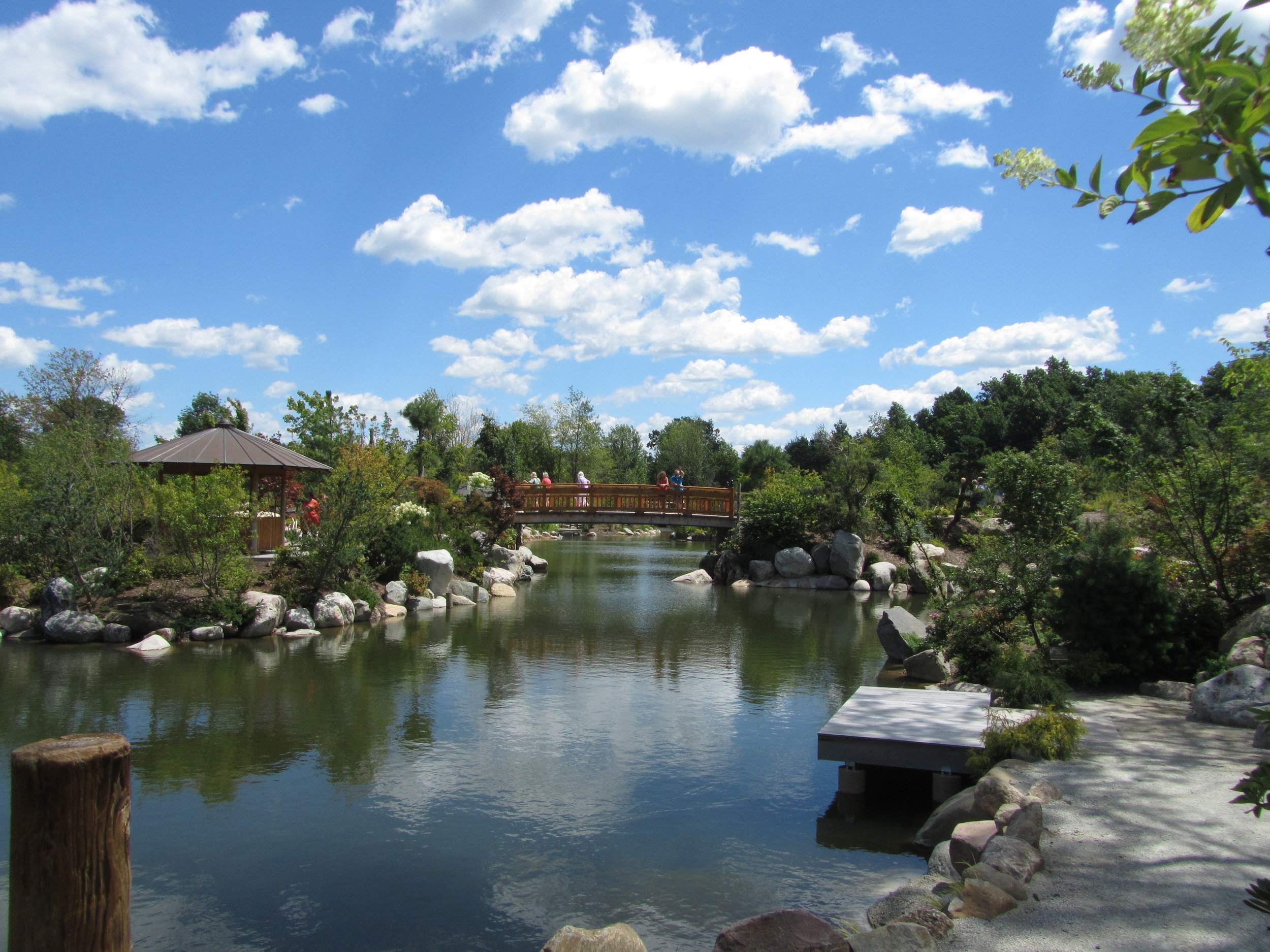Japanese Garden, Grand Rapids, Michigan, August 2015