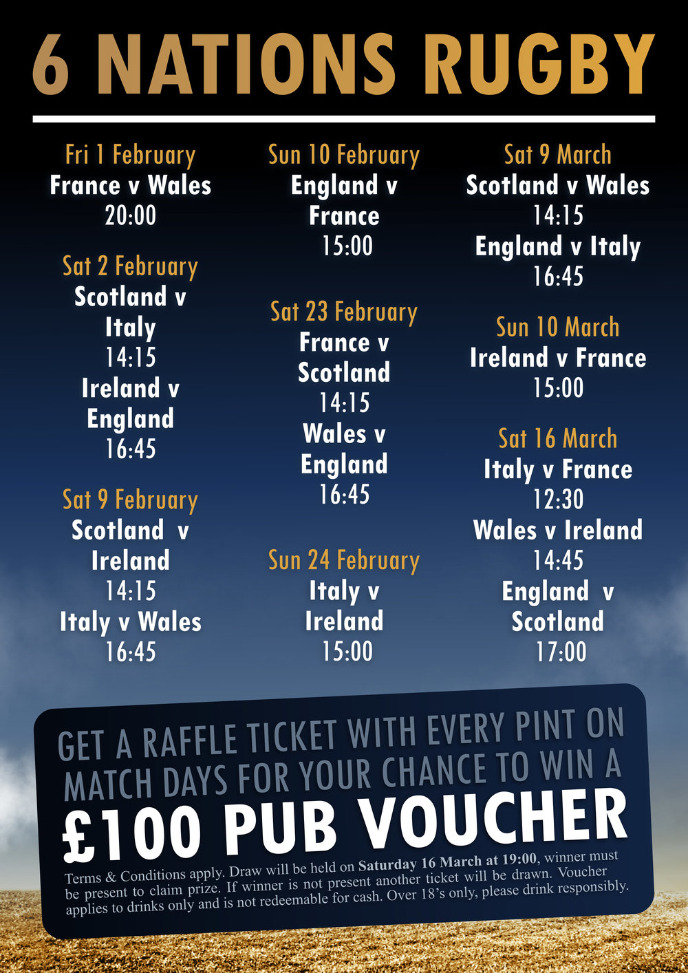 Guinness 6 Nations Rugby