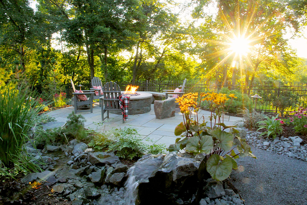 Be inspired by the outdoor spaces Tabor Group Landscape has designed and created.