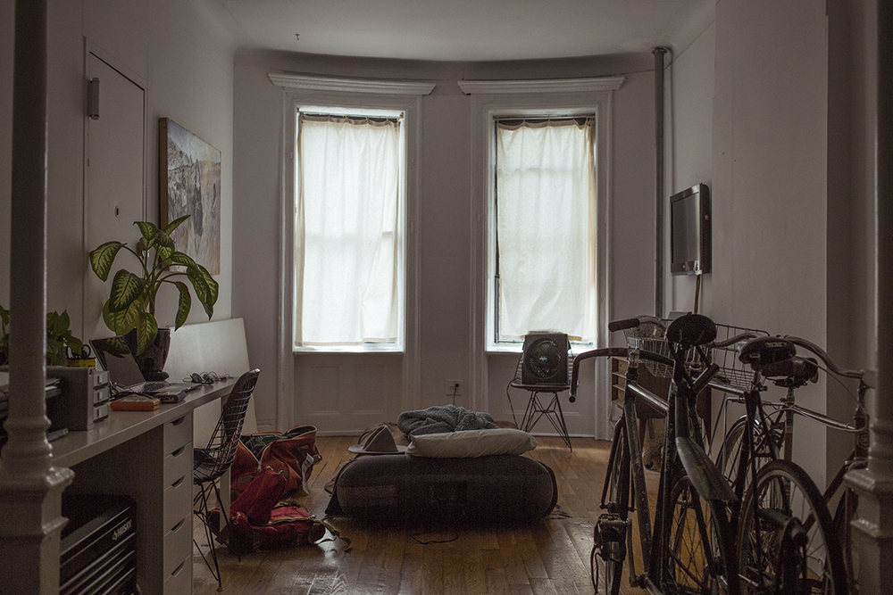 my new york digs, 2015.
