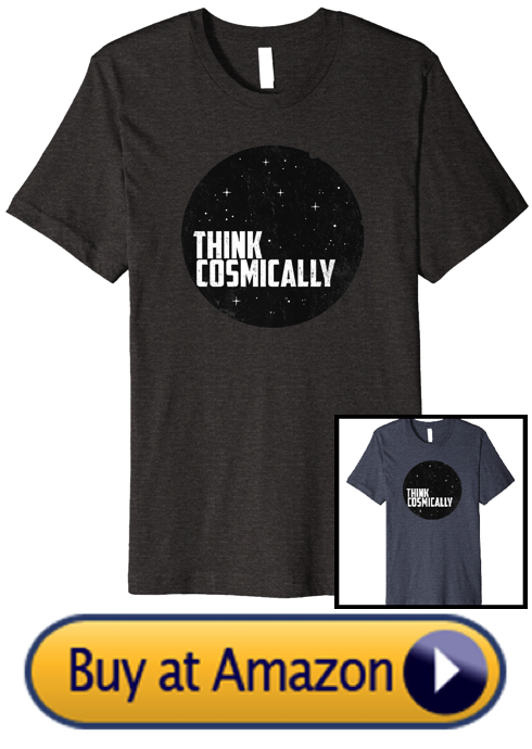 Shop Think Cosmically Shirt