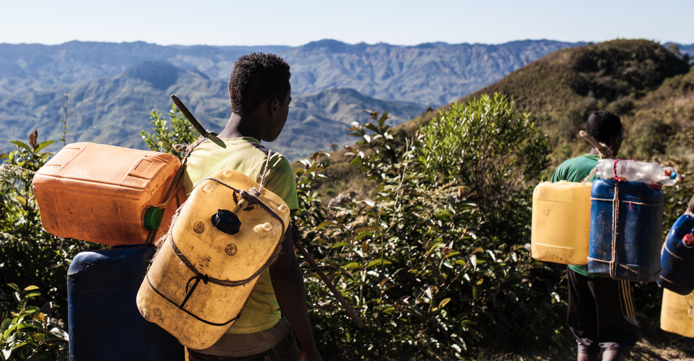 The Only Access In or Out of the Valley is by Foot on 3 Hours of Mountain Trails