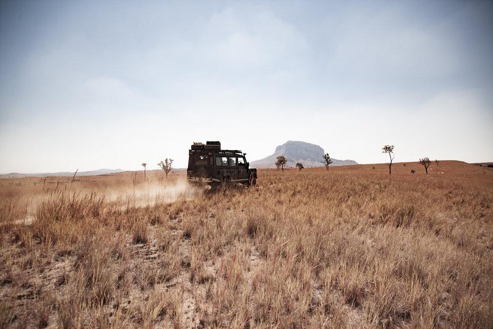 Western plains north of Ranohira