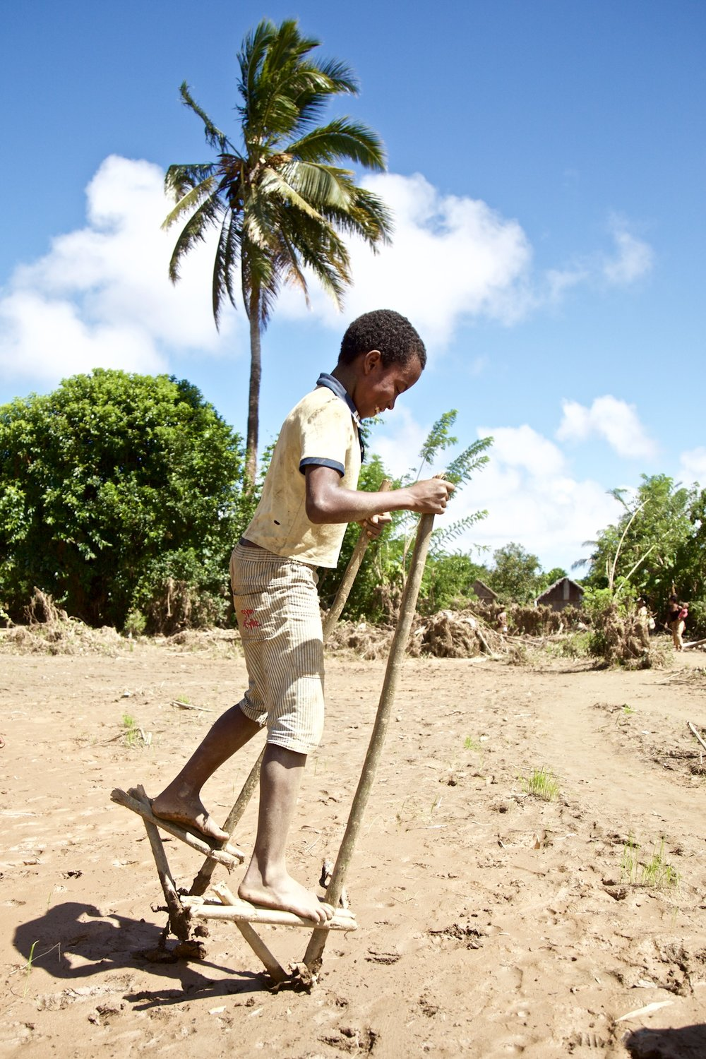 After the Floodwaters Receded, The Thick Mud Presents a New Opportunity for Local Kids