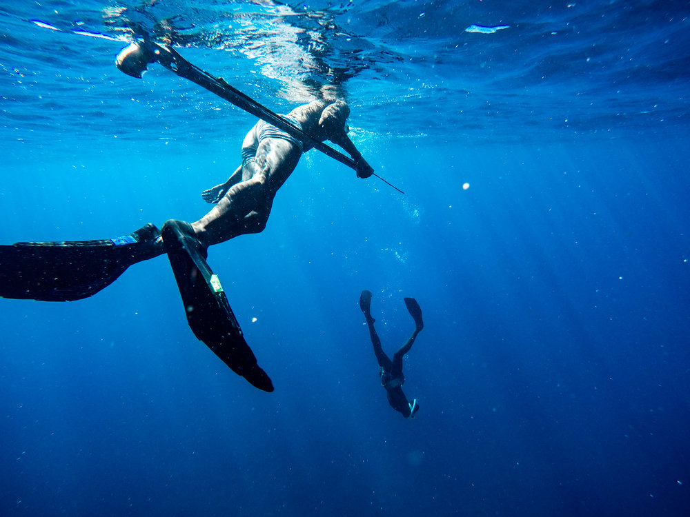 Vezo free-divers begin training their lungs as young as 5 years-old and as adults, can endure several minutes underwater on a single breath