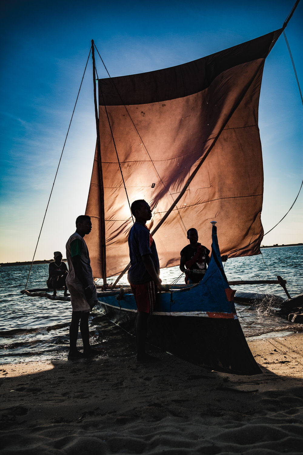 As a nomadic people, The Vezo spare little thought for the future but as the forces of globalisation change their world, their ability to plan ahead will determine their survival