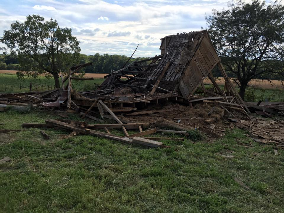 Wilson Farm Barn Removal